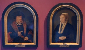 Two Amsterdam brewers in 1526. Also the first known portraits of Amsterdammers in a non-religious context.