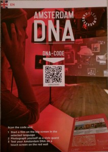 Your (well, my) access code to the DNA videos