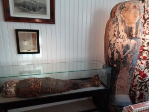 An actual mummy