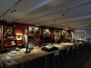 The main room of the museum