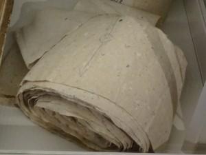 Romainian toilet paper. No, really.