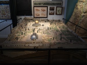 Model of The Temple Mount in Jerusalem