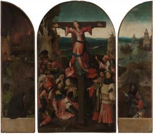 Saint Wilgefortis Triptych