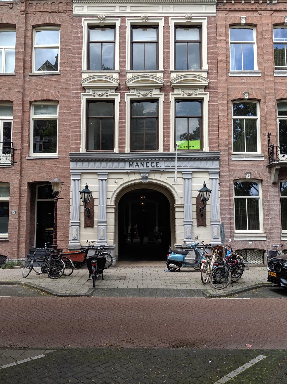Entrance to the Hollandsche Manège